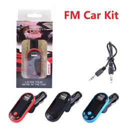Laufwerksunterstützung online-FM Transmitter Doppel USB Ladegerät Günstige Bluetooth Car Kit FM Radio Auto Bluetooth Adapter Unterstützung TF Karte USB Flash Drive AUX Better S7