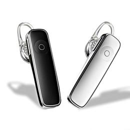 mãos livres para iphone Desconto M165 bluetooth 4.0 fone de ouvido sem fio fone de ouvido hands-free fones de ouvido esportes chama música earpieces para iphone 6 7 8 x samsung htc android phone