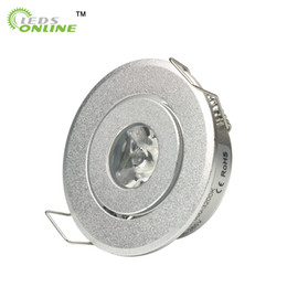 Wholesale Product Cabinets - home store decor hot products 4pcs lot mini Led spot light Downlights cabinet lights 1W 3W Hole size 40-45mm 110-270LM