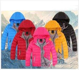 2019 anni giubbotto giacca 2018 nuovi tuta sportiva dei bambini e della ragazza di inverno caldo cappotto incappucciato dei bambini Cotton-Padded Down Jacket Kid Giacche 3-12 anni sconti anni giubbotto giacca
