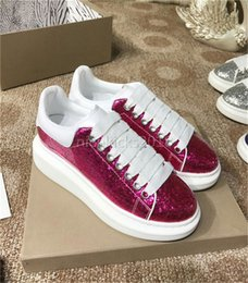 Wholesale Dresses Daily - 2018 Sequins Mens Womens Comfort Casual Dress Shoe Glitter Formal Leather Leisure Shoes Mens Daily Lifestyle Casual Classic Women Shoes