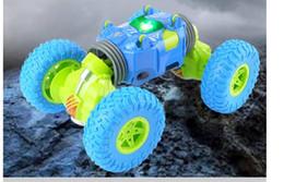 2019 kit de avión epo Cuatro carros de juguete de escala remota variable de contracción de torsión doble camión de integración