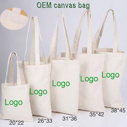 Bolsas de regalo reciclables online-Los bolsos imprimibles de la publicidad del promo de la lona del OEM para la promoción, pueden imprimir el bolso ambiental de la lona del logotipo del cliente bolso de compras reciclable del regalo