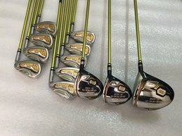 Brand New 3 Stelle S-06 Golf Set completo Golf Club Driver + Fairway Wood + Ferro Set Graphite Shaft With Head Cover supplier branded golf clubs drivers da i piloti di golf club di marca fornitori