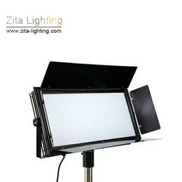 Panel dmx online-Zita Lighting LED Studio Luces de panel plano Fotografía DMX Shooting Par Lighting Hall Tres Color primario Gradual regulable Sala de conferencias