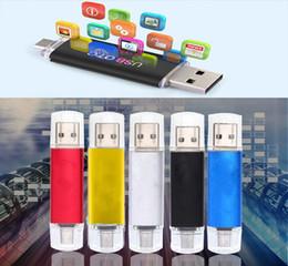 hotsale handy Rabatt Neue OTG Pen Drive 8 GB 16 GB 32 GB 64 GB USB-Stick bunten Speicher Stick U Disk für Android-Handy Tablet-Thumbdrive