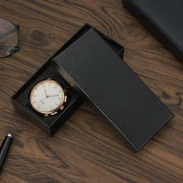 Wholesale Designing Brand Logo - New design wholesale Free shipping 2018 luxury big watch box Fashion designer no logo brand Top quality Large size boxes gift for watches