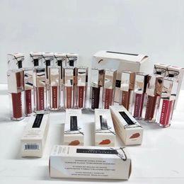 Wholesale Dhl Lipstick - ( in stock)Free Shipping DHL !! Newest makeup Fenty beauty 12 colors Matte liquid Lipstick Lip Gloss 9ML