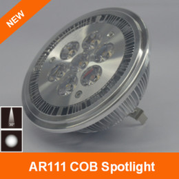 Wholesale High Ra - 7W LED lampara AR111 spotlight Round Warm Cool White High RA above 80 Optional dimmable 30point Beam angle 450LM