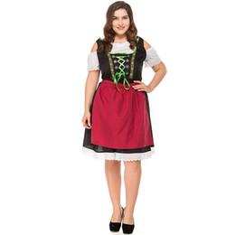7030689051e8e Yeni Bayanlar Wench Garson Hizmetçi Cosplay Kostüm Alman Oktoberfest Bira  Kız Bavyera Bar Hizmetçi Elbise Cadılar Bayramı Fantezi Elbise