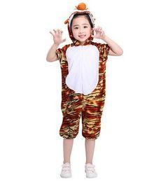 2018 новый стиль дети косплей Тигр мышь лягушка животных выполнять одежда мальчиков и девочек танец сиамские одежда от Поставщики новые животные