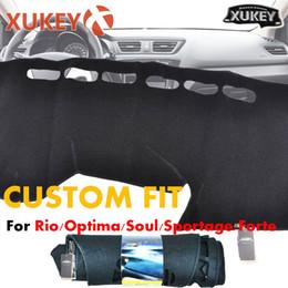 kia sportage couverture Promotion Tapis de tableau de bord de voiture pour Kia Rio 3 Optima Soul Sportage Forte Cerato (LHD)