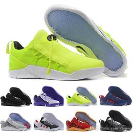 on sale 071ee 1d3bb Nuovo 2018 all ingrosso Kobe KB 9 IX Elite Black Mamba Blackout Natale High  Top uomini scarpe da basket Sport formazione Sneakers formato € 40-46