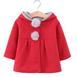Mês jaqueta inverno on-line-Inverno Bebê Recém-nascido Snowsuit moda Meninas Casacos E Jaquetas Bebê Quente Com Capuz Crianças Menino Casacos Outerwear Roupas 6-24 meses