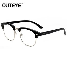 72cd682629 2018 Optical Eye Glasses Frames For Women Retro Clear Lens Glass Fake  Eyewear Vintage Eyeglasses Transparent Myopia Glass Frames