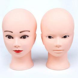 bambole di massaggio Sconti Mannequin Heads Parrucche Display Head Mannequin Cap Cappello Display Mannequin Head Beauty Makeup Massage Dummy Model Head Doll