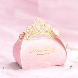 Argentina 50 unids favores de la boda cajas de dulces de lujo blanco / rosa flores caja de regalo del partido caja de chocolate + cinta de tres diseños Suministro
