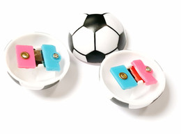 Wholesale loot kids gift bags - 48pc Football Soccer Clicker E439 Noisemaker Novelty Birthday Party Favors Gift Prize Kid Fiesta Loot Pinata Bag Filler carnival