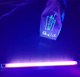 2019 lampada alogena al tungsteno cavo filo 110volts T5 UV luz ultravioleta 4w 6W BLB 8watt lampada con dispositivo interruttore libero US Plug Azzurro Nero lampadina