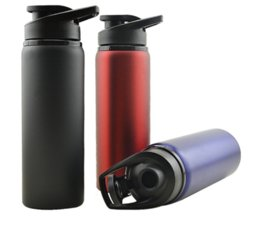Wholesale Custom Drinks - Stainless Steel Sports Water Bottle 700ml Large Capacity For Outdoors Camping Travel Cycling Logo Custom Made Support