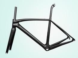 2019 frame da bicicleta da estrada da fibra do carbono 48cm Quadro completo da bicicleta da bicicleta da estrada do carbono de T1000 UD mecânico / quadro de estrada de competência Di2 (com logotipo, imposto feito sob encomenda livre disponível)