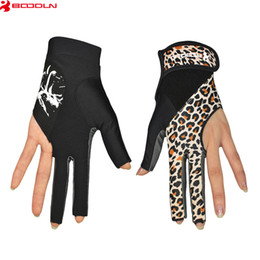 Wholesale Cue Accessories - Brand Billiards Gloves Breathable Snooker Cue Gloves Billiard Player Accessories Sports Pool Shooters Table Gloves Luvas de goleiro