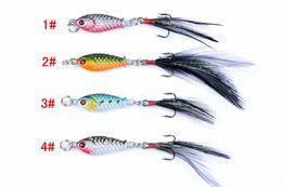 Argentina Venta caliente 4 juegos de diferentes piezas Tool Fishing Lure Kits Duros ARTIFICIAL SEÑUELOS MINNOW SEÑUELOS DE PESCA Set Steel VIB Blade Fish Bait cheap lures vib Suministro