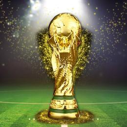 2018 Titan Tasse Artware Resin Model 21 cm 27 cm 36 cm 44 cm Russland world cup fußball trophäe Fans Souvenir geschenk DHL Schnelle geliefert von Fabrikanten