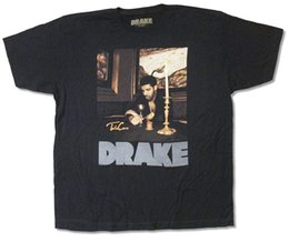 Candela del tè nero online-Candles Logo riflettente grigio T Shirt nera Casual per adulti Taglie forti T-shirt stile hip hop Tee S-3Xl