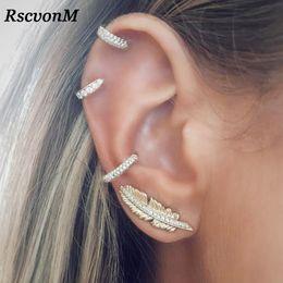695020ded vintage screw back earrings Coupons - RscvonM Vintage Leaf Clip On Earrings  Gold Colour Crystal Ear