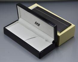 caja de embalaje negra Rebajas AAA Luxury MB Gift pencil Box Top Grade Caja de resina negra con garantía Manual para regalo de cumpleaños de Navidad Valentine Packaging - Alta calidad