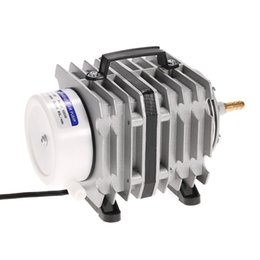 Wholesale hydro steel - GPH 20 35 45W Active O2 Aquarium Commercial Hydro Air Pump with 6 8 10 Outlets Electrical Magnetic Oxygen Pumps fish tank bubble ETO2014