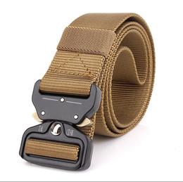 Argentina Venta al por mayor 3.8 CM Cobra multifuncional de nylon externo cinturón táctico de liberación rápida entrenamiento cinturón de trabajo, se puede personalizar LOGO supplier logo belts Suministro