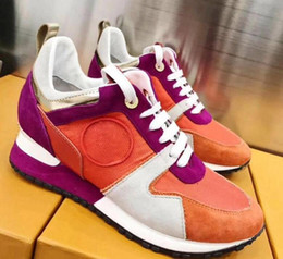 Wholesale Italy Designer Shoes - Famous brand mens women casual runners shoes Italy style designer luxury Skateboard SHOES Zapatos Hombre 36-45