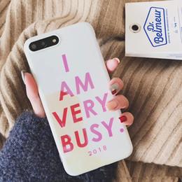 Handy-Hülle Ich bin sehr damit beschäftigt, die kreative All-Inclusive-Schutzhülle für Phone X 8plus zu drucken von Fabrikanten