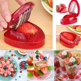 2019 7 kitchen knife Nuevo cortador de cuchillos de tallado de frutas y fresas de plástico con 7 cuchillos de acero inoxidable para cuchillas afiladas de cocina rebajas 7 kitchen knife