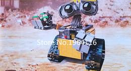Wholesale Idea Models - 2017 New 16003 Ideas series the WALL E model building blocks set Compatible original 21303 Classic the robot Toys for children