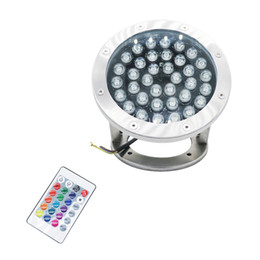underwater pond lights Promo Codes - Edison2011 12V 36W RGB LED Underwater Lights Pond Pool Fountain Light Spot Lamps IP68 Waterproof Spotlight