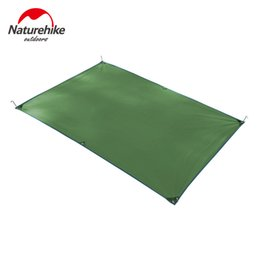 Deutschland NatureHike 2,15 * 1,5 mt 2,15 * 2,15 mt 1-4 Person Zelt Footprint Outdoor Picknick Zelt Matte Mini Tarp Sun Shelter Oxford Versorgung