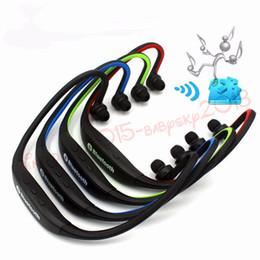 Visite de casque en Ligne-S9 casque sans fil casque stéréo sport Bluetooth haut-parleur tour de cou Bluetooth 4.0 écouteur pour iphone 7 8 x samsung avec paquet de vente au détail