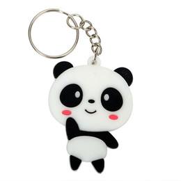 porte-clés panda Promotion Femmes Sac Pendentif Auto Porte-clés Panda Porte-clés De Voiture Porte-clés De Mode Porte-clés Cool Bijoux Mignon Cadeau Créatif