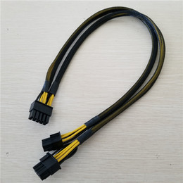 PSU 10Pin macho a PCI-E tarjeta de video gráfica de 8Pin 6Pin macho Cable de suministro de potencia para servidor HP DL580 / DL585 / DL980 G7 desde fabricantes