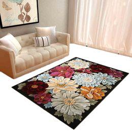 2018 Beige Sofa Wohnzimmer 3D Blumendruck Bodenmatte Eingang Fußmatte  Rutschfeste Wohnzimmer Schlafzimmer Teppiche Große Matten Sofa