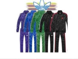 Sportswear de alta qualidade on-line-2018 Marca Designer de Treino Primavera Outono Unisex Ocasional Marca Sportswear Pista Ternos de Alta Qualidade Hoodies dos homens de Roupas