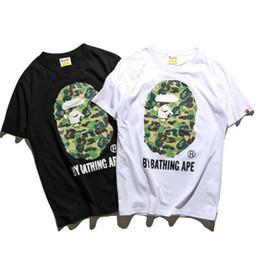 Wholesale Men Gothic Shirt - Kanye West palace men women ape T-shirt Fog Longline Ribbon T shirt Black Brand Clothing Hip Hop Fear Gothic Tshirt Men Tee