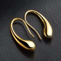 Wholesale wonderful earrings - Wholesale Newest Bijoux Jewelry Brincos Pendientes Mujer Copper Filled Stunning CZ Wonderful Dangle Earrings For Women E462