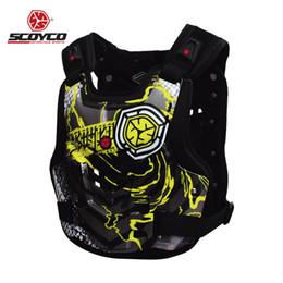 chaleco de engranajes Rebajas Moto Armor Motocicleta Body Armor Motocross Pecho Volver Chaqueta Protector Chaleco Racing Equipo de protección Guardia Guardia Equipo de carrera