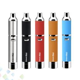 2019 e recharges de cartouche de cigarette en gros Authentique Yocan Evolve Plus Kit Quartz Stylo-Cire à double enroulement Vaporisateur Vape Batterie 1100 mAh Cigarette électronique DHL gratuit