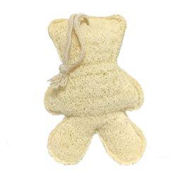 Giocattoli di Doofa naturale di Luffa naturale a forma di animale naturale della spugna di Luffa del cuore della stella dell'orso del pesce da