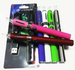 china electronics diretos Desconto EVOD MT3 Blister pacote kit eGo kits de partida kits individuais e cigs cigarros 650mah 900mah 1100 mah bateria MT3 atomizador